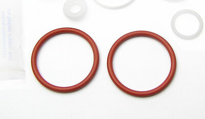 2x replacement coffee maker piston seal o-ring. To fit Krups EA9000 and others