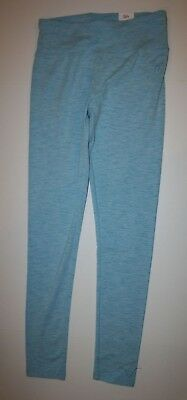 New Justice Leggings Girls 14 16 yr Stretch Soft Pants Turquoise Blue