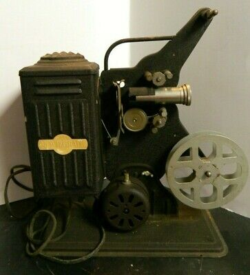 Vintage Moviegraph 16 mm Movie Projector Model E 743 by Keystone Good Condition