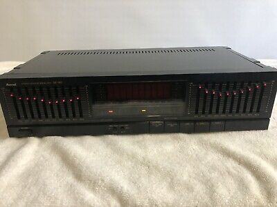 Sansui SE-80 Graphic Equalizer - ***Tested ***CHECK OUT MY YOUTUBE VIDEO********