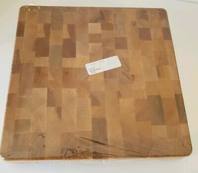 "New Catskill Craftsmen Hardwood Endgrain Cutting Board Chopping Block 12"" x 12"""