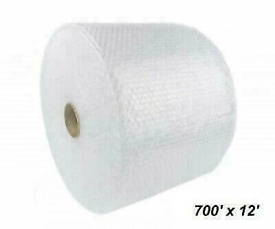 "Bubble Cushioning Wrap 3/16"" 700 ft. x 12"" Perforated Every 12"" Small Padding"