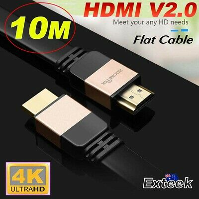 10m HDMI Cable v2.0 3D Ultra HD 4K 2160p 1080p High Speed with Ethernet HEC ARC