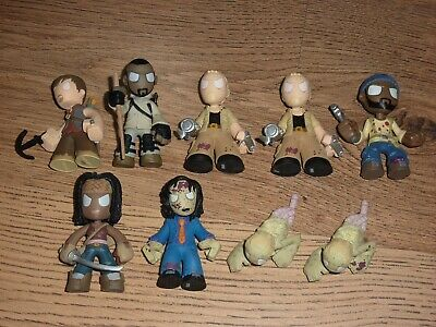 NUOVO 4X Ufficiale The Walking Dead in Memorium FUNKO Mystery Minis Vinyl Figure