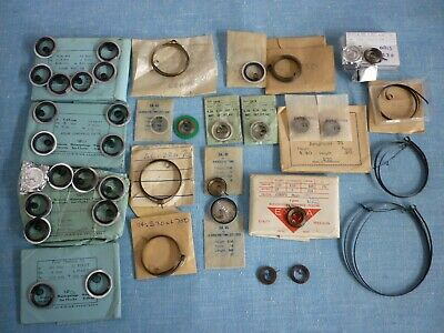 Vintage Mainsprings For Small Clock, Alarm & Pocket Watch. New Old Stock.