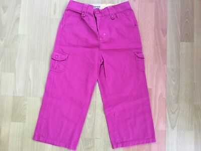 NEW 3/4 length girls trousers age 13 - pink