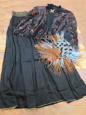 Victorian Style Costume - 3 Piece Outfit - Christmas Market/Theatrical - UK10/12