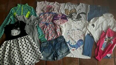 Girls Clothes Bundle Age 6 7 years Next Christmas Winter fatface Zara jeans tops