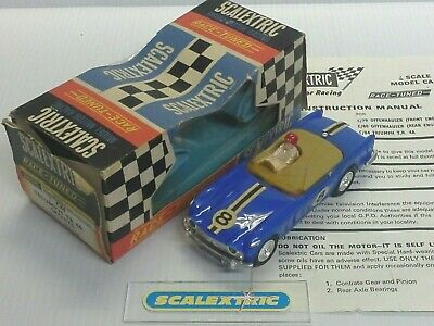 SCALEXTRIC Tri-ang 1966-71 C84 TRIUMPH TR4A 'Race Tuned' #8 (CAR SUPERB - BOX?)