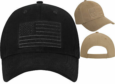 Coyote Brown /' MURICA Subdued US Flag Embroidered Low Profile Hat Rothco 9900
