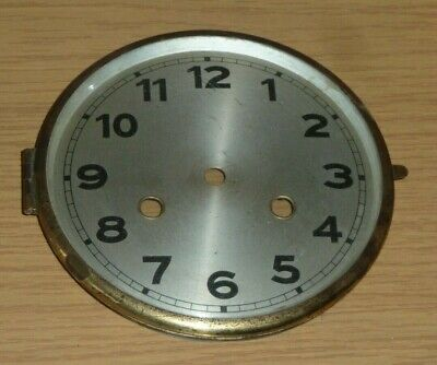 """Hinged glazed clock bezel insert with dial - to fit 6"""" aperture"""