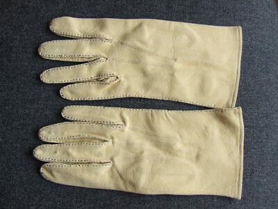 Pair Of Dents Mayfair  Ladies Chamois Leather Gloves Size 8