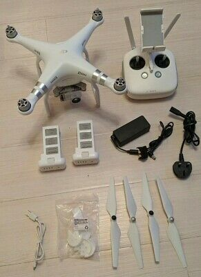 DJI Phantom 3 Advanced Drone with Spare Battery and other accessories