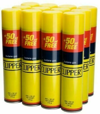 GENUINE Quality CLIPPER Universal Gas Butane Refill For All Lighters 300ML