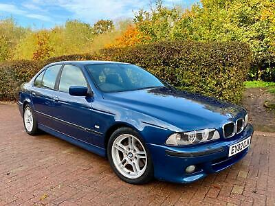 2002 BMW 530i 3.0 Sport Automatic e39 Topaz Blue M Just 2 Owners From New