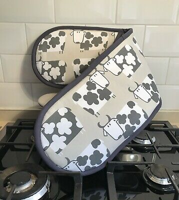Double Oven Glove - Moo Cow
