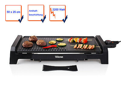 Teppan-Yaki Table Barbecue Electric Grill Party Balcony Camping 2200W