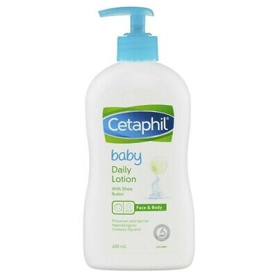 * Cetaphil Baby Daily Lotion 400mL With Shea Butter, Hypoallergenic