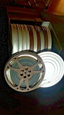 Movie Film Reels with Exposed Film