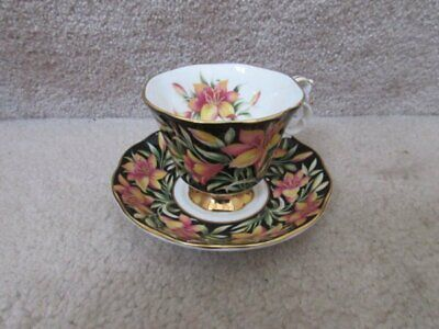 Royal Albert Bone China Cup and Saucer Prairie Lily Provincial Flowers