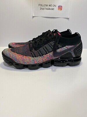 Nike Vapormax Flyknit 2 Men's Running Shoes Multi Color 942842-017 Size 14