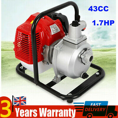 43CC 1.7HP Engine Petrol Water Drainage Pump Water Transfer High Pressure Pump