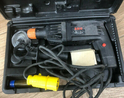 Used AEG Atlas Copco PHE 20RLN Drill - 110v Sds Hammer Drill - With Accessories