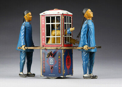 Lehmann Blechspielzeug Wind Up Tin Toy Mandarin EPL No 565 with Key Working