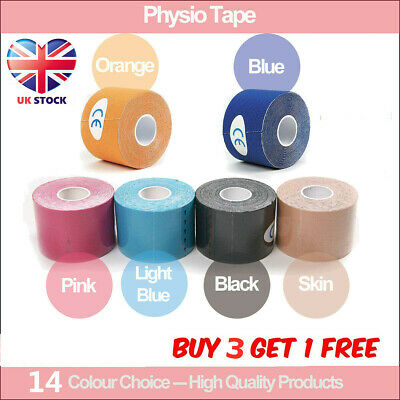 5M Sport Body Knee Rocktape Athletic Muscle Tape Physio Kinesiology Strapping UK