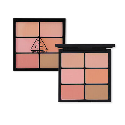 [3CE Stylenanda] 3CE Pro Multi Blush Color Palette (#SOFTENER) - 25.8g