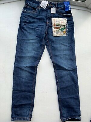 BNWT Next Boys Skinny Fit Jeans With Stretch and stickers  Age 11