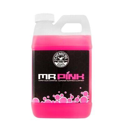 Chemical Guys MR Pink Super Suds Shampoo & Superior Surface Cleaning Soap 64oz