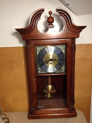 Howard Miller Westminster Chime Clock Hanging 8x15x28 Inch Tall