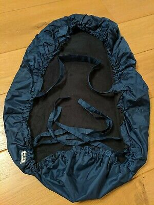 Wilkinet Rain Cover for Baby Carrier ~ Navy Blue ~ Pristine Condition