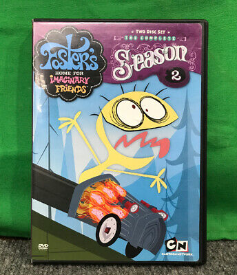 Fosters Home for Imaginary Friends: Complete Season Two (DVD, 2007, 2-Disc Set)