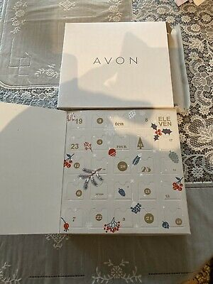 Christmas Advent Calendar AVON Noel Gift Set with 25 pairs of Earrings Jewellery