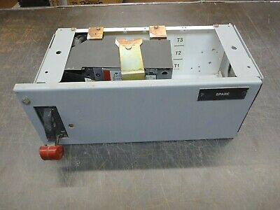 "GE 8000 SERIES 50 AMP 6"" HALF FEEDER BUCKET SELA36AT0060 w/ 50A PLUG SRPE60A"