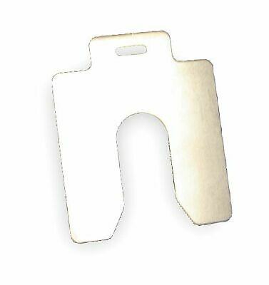 Maudlin Products Slotted Shim, B-3x3 Inx0.020In, Pk20 - MSB020-20