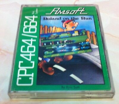 Roland on the Run (Amsoft) Amstrad CPC DISK
