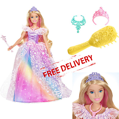 Barbie Doll Princess Figure Girls Toy Dreamtopia Royal Ball Kids Chrismtas Gift