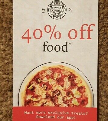 Pizza Express 40% Off*