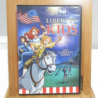 Liberty's Kids: The Complete Series DVD Set 40 Episodes on 4 Discs Educational