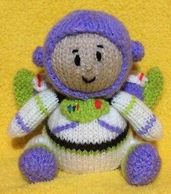 KNITTING PATTERN 15 cms Toy story cowgirl Jessie inspired choc orange cover
