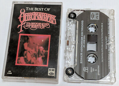 The Best of QUICKSILVER MESSENGER SERVICE Cassette Tape 4XL 57289 Acid Rock