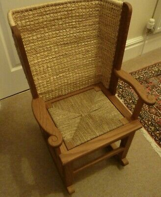 Orkney Chair Child's Rocker Handmade in Orkney