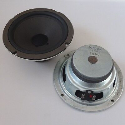 "vintage ROLA 6½"" woofers with heavy magnets, rubber surrounds—USA, 1971—superb"