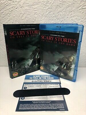 Scary Stories to Tell in the Dark Blu Ray + Digital HD (NO DVD INCLUDED) READ