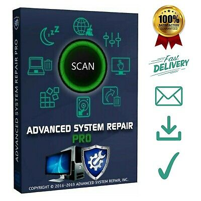Advanced System Repair Pro 2019 ✔️Licence key ✔️Download ✔️Instant delivery