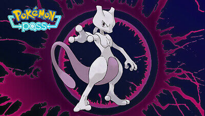 Best Buy Mewtwo Event Code for Pokemon Let's Go Pikachu/Eevee Nintendo Switch