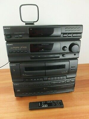 Sony LBT-A295 Stereo System, 5 disc DVD, Cassette (no speakers)